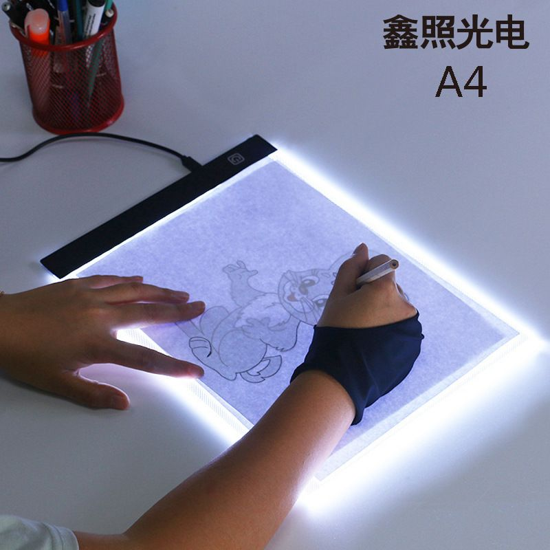 A4 LED Light Box Tracer Digital Tablet Graphic Tablet Writing Painting Drawing Ultra-thin Tracing Copy Pad Board Artcraft Sketch