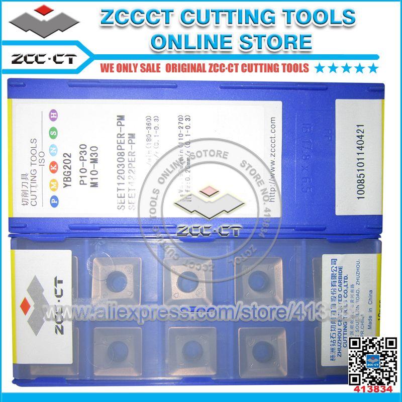 Freies Verschiffen ZCCCT schneiden werkzeuge cnc fräser gesicht mühlen 1 pack