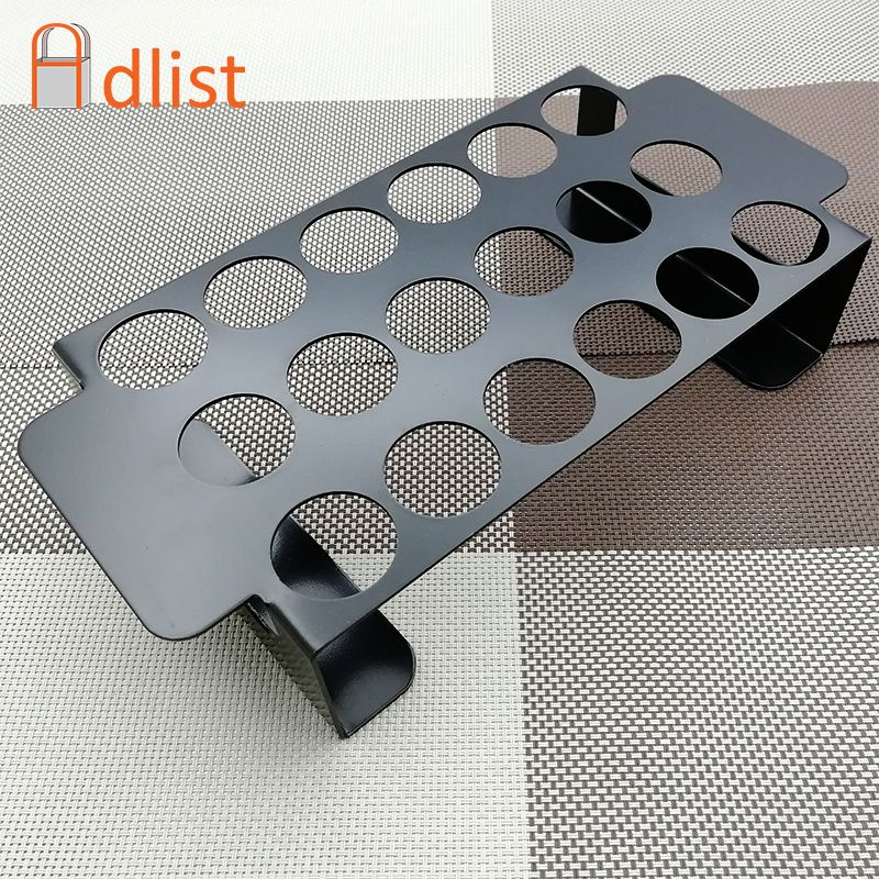 Hot 8.8'' Large Stainless steel jalapeno Pepper Grill Rack/Grilling Pepper Roasting Rack Jalapeno Popper Holder bbq accessories