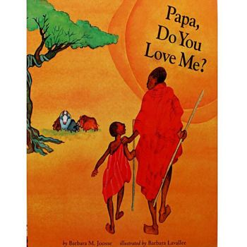 Papa, Do You Love Me? By Barbara M. Joosse Educational English Picture Book Learning Card Story Book For Baby Kids Children Gift