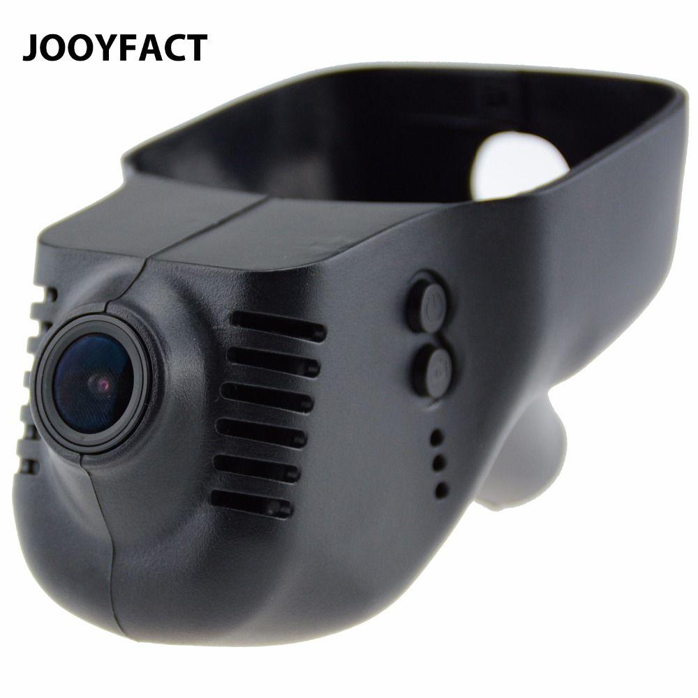 Enregistreur vidéo de caméra de tableau de bord de l'enregistreur DVR de voiture JOOYFACT A1 1080 P Novatek 96658 IMX323 WiFi adapté pour les voitures Volkswagen et Skoda