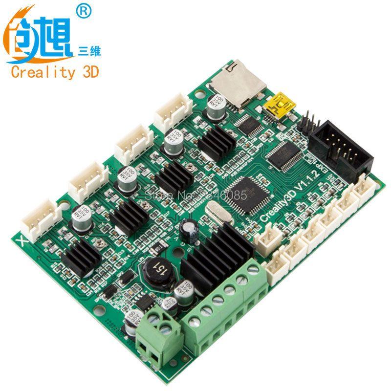 Offizielle Creality 3D Ender-3 Ersatz Mainboard/motherboard Druck Größe 220*220*250mm Für Ender-3 3D Drucker fabrik Liefern