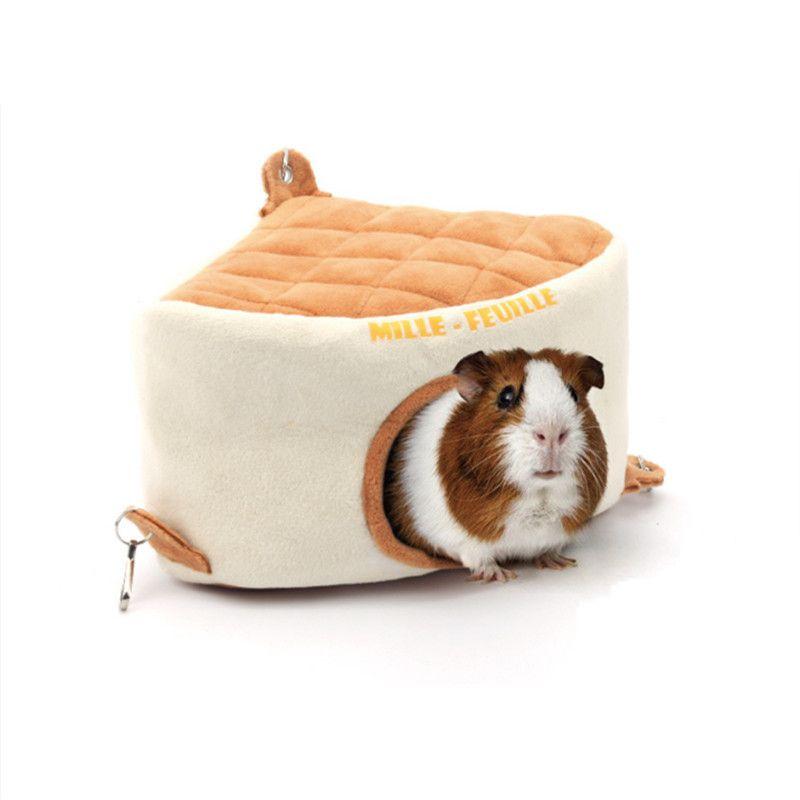 Товары для домашних животных зверек Треугольники торт милый клетка для хомяка Малый Guinea Pig Ежик Ferret Шиншилла Песчанка мелких животных дом
