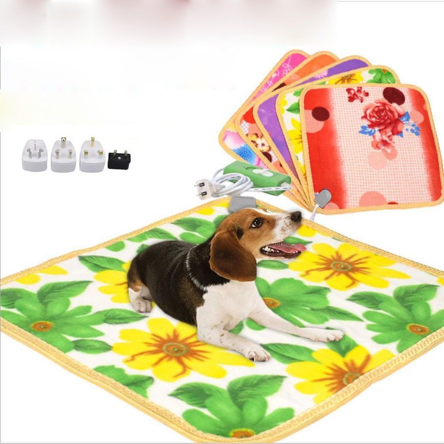 Dog Bed House Pet Warm Electric Heated Pad Mat Blanket COZY Bed Dog Cat Perros Cama Perro Bunny Heater Mat Blanket Bed Bed