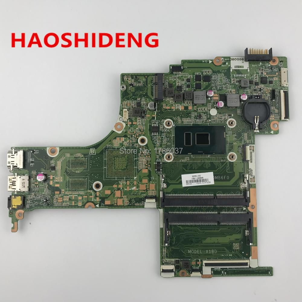 836097-601 DAX1BDMB6F0 X1BD For HP PAVILION 15-AB 15-AN 15-AN050NR Laptop Motherboard with i5-6200U,All functions fully Tested!