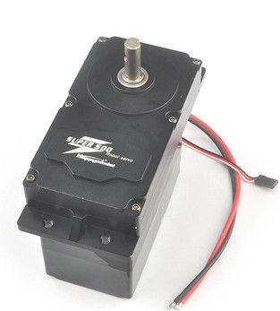 SUPER500 500KG.CM High Torque Metal Servo 12V-24V DC Input Support PWM Servo with BEC 5V for DIY Large Robot Arm