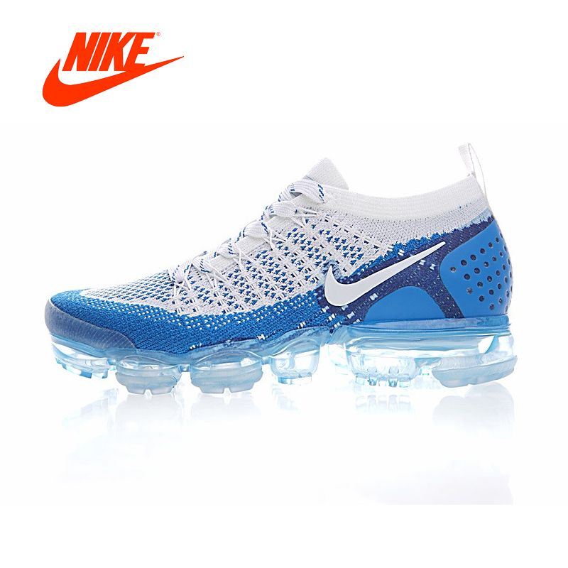 Original Authentic NIKE AIR VAPORMAX FLYKNIT 2 Mens Running Shoes Sneakers Breathable Sport Outdoor Athletic Good <font><b>Quality</b></font> 942842