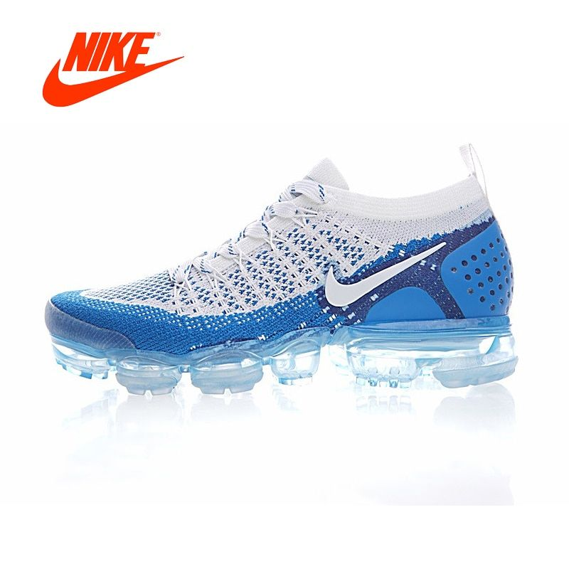 Original Authentic NIKE AIR VAPORMAX FLYKNIT 2 Mens Running Shoes <font><b>Sneakers</b></font> Breathable Sport Outdoor Athletic Good Quality 942842