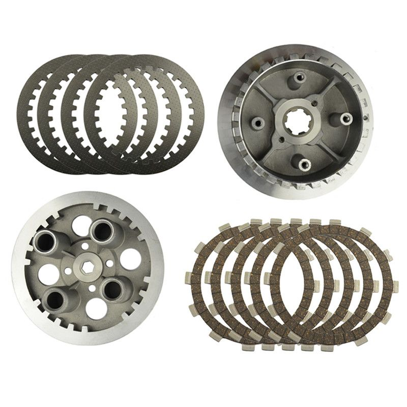 Motorcycle Engine Parts Clutch Drum Assy & Clutch Friction Plates & Steel Plates Kit For YAMAHA XV250 XV 250