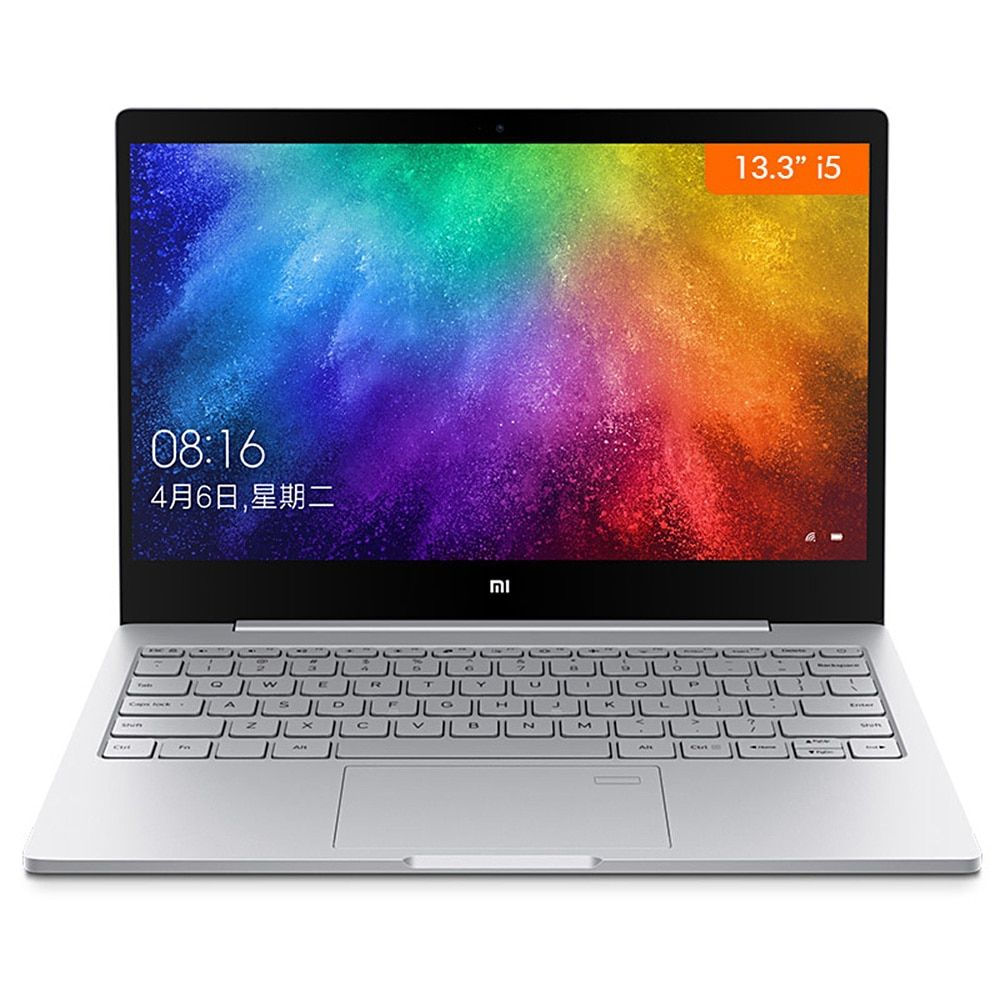 Xiao mi mi Notebook Air 13,3 Windows 10 Intel Core i7-8550U Quad Core 2,5 GHz 8 GB 256 GB Fingerprint Sensor dual WiFi Typ-C Laptop