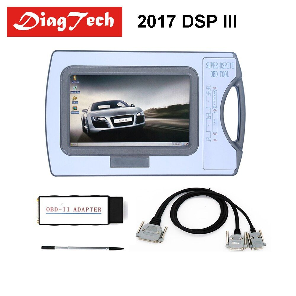 2017 Version Odometer Correction Tool DSP3 DSPIII KM Tool DSP 3 DSP III Work For 2010-2017 Years New Models By OBD2