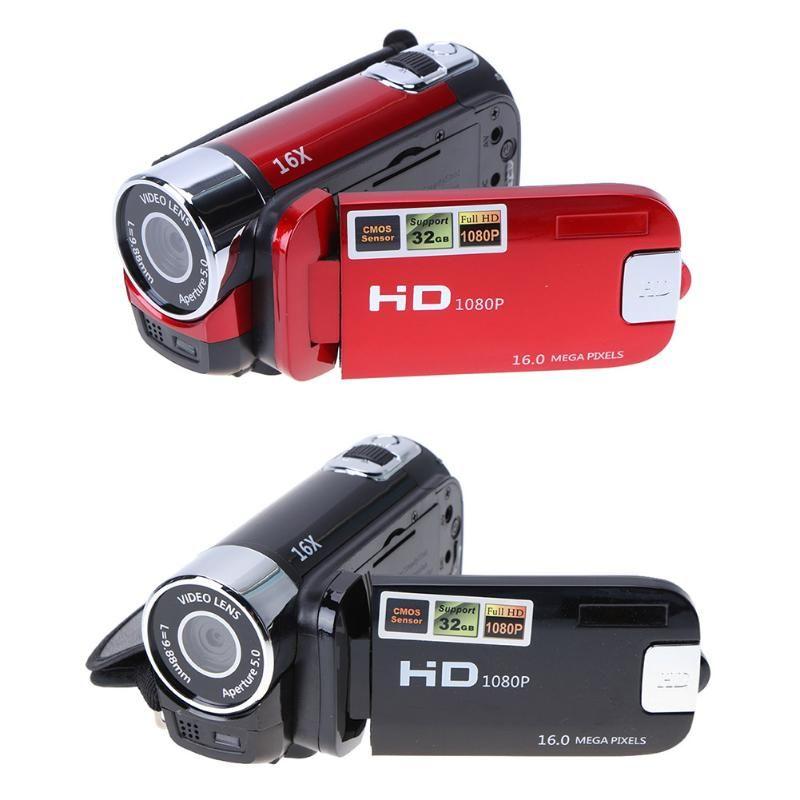 ALLOYSEED Digital Video Camera Full HD 1080P 32GB 16x Zoom Mini Camcorder DV Camera Support AVI 1080P 720P VGA for SD/HCSD 32G