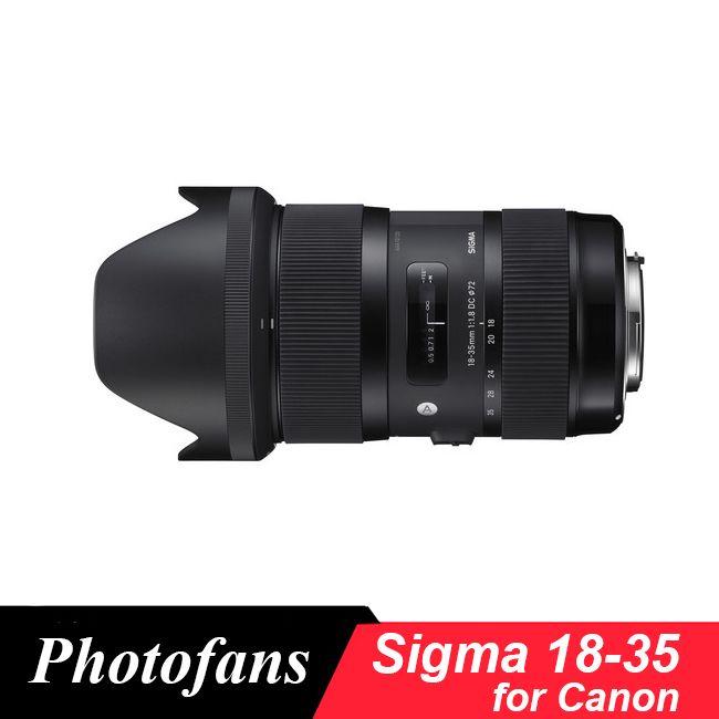 Sigma 18-35 Objektiv für canon 18-35mm f/1,8 DC HSM Kunst Objektiv für Canon 700D 750D 760D 800D 60D 70D 80D 7D T5i T3i