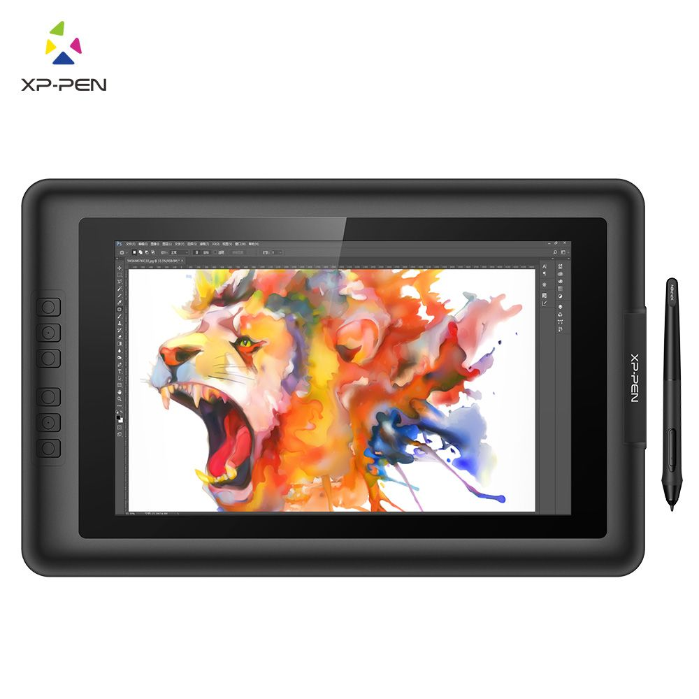 XP-Stift Artist13.3 IPS 13,3 Zeichnung Stift Display Graphics Zeichnung Monitor mit Batterie-freies Passive Stylus