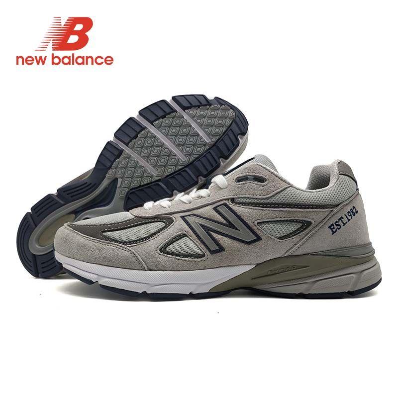 NEUE BALANCE NB 990 V4 Sommer zapatillas hombre deportiva Paar Dämpfung Schuhe Klassische Stil Mesh Vamp Turnschuhe
