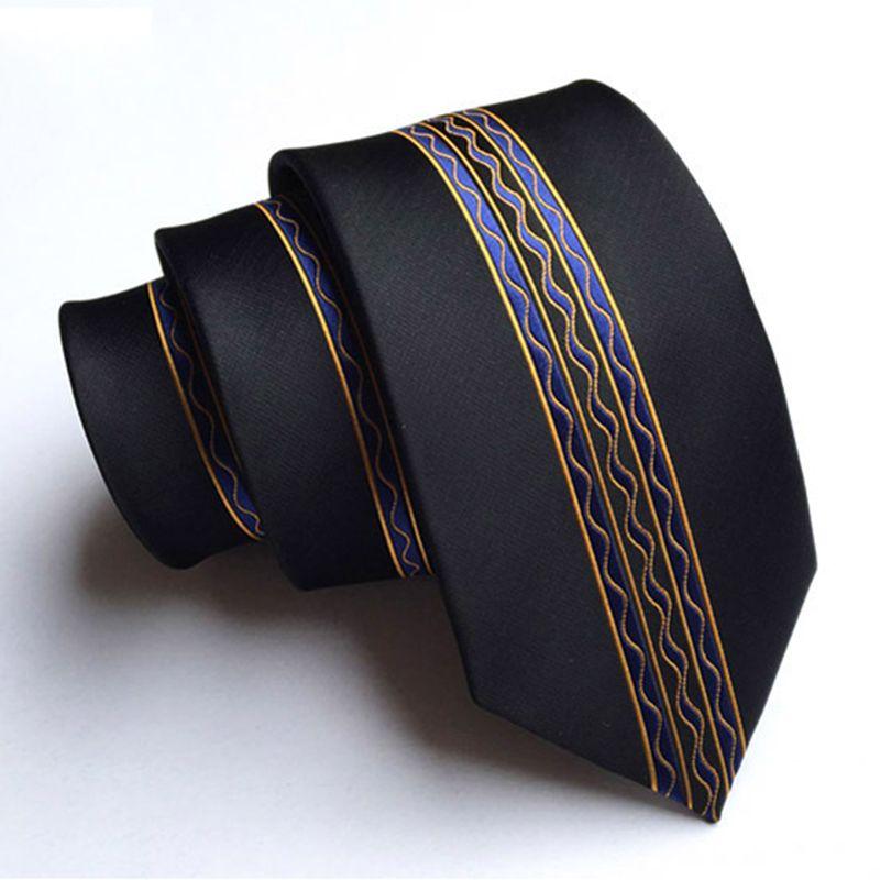 RBOCOTT мужской модный обтягивающий галстук 6 см Цветочный горошек и полосатый галстук Повседневный стиль тонкие галстуки вечерние Gravatas corbatas ш...
