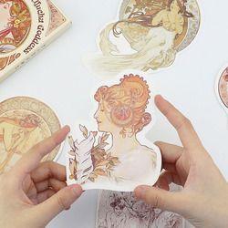 30 Pcs/pack Belle Rétro Poème de la Moxia Déesse Carte De Voeux Cartes Postales D'anniversaire Carte-Cadeau D'affaires Ensemble Message Carte