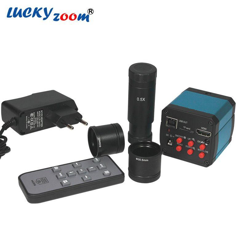 14MP HDMI CMOS USB2.0 Digital Industry Electronic Microscopio HD Industrial Camera Video For Microscope Eyepiece C-mount