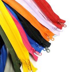 12 pcs 50 CM 5 # Haute Qualité Coloré Open-End Résine Fermetures Sur Mesure Vêtement Sacs Accueil Textile Couture Artisanat A068