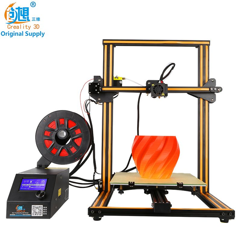 CREALITY 3D Official Store CR-10/CR-10S Optional Large Size Desktop Large 3D printer hot sell,mental frame affordable 3d printer