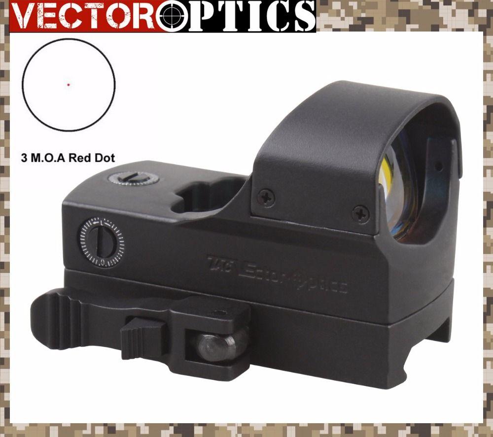 Vecteur optique haut de gamme 1x22x33 fusil tactique 3 MOA pistolet point rouge vue 66mm 2.6