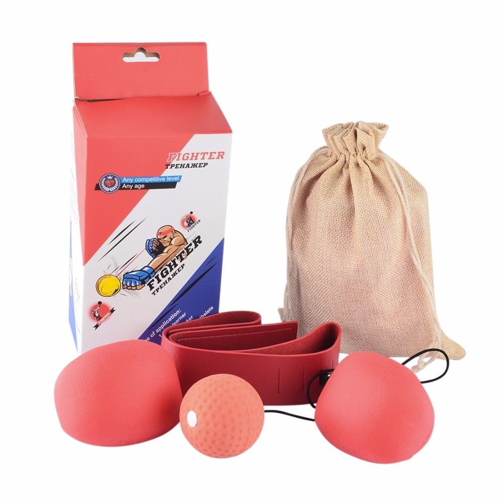Board Games Boxing Ball Set Boxe Reaction Awareness <font><b>Training</b></font> Punching Bag Speed Ball Free Combat Board Game Hand Ball Relax Toy