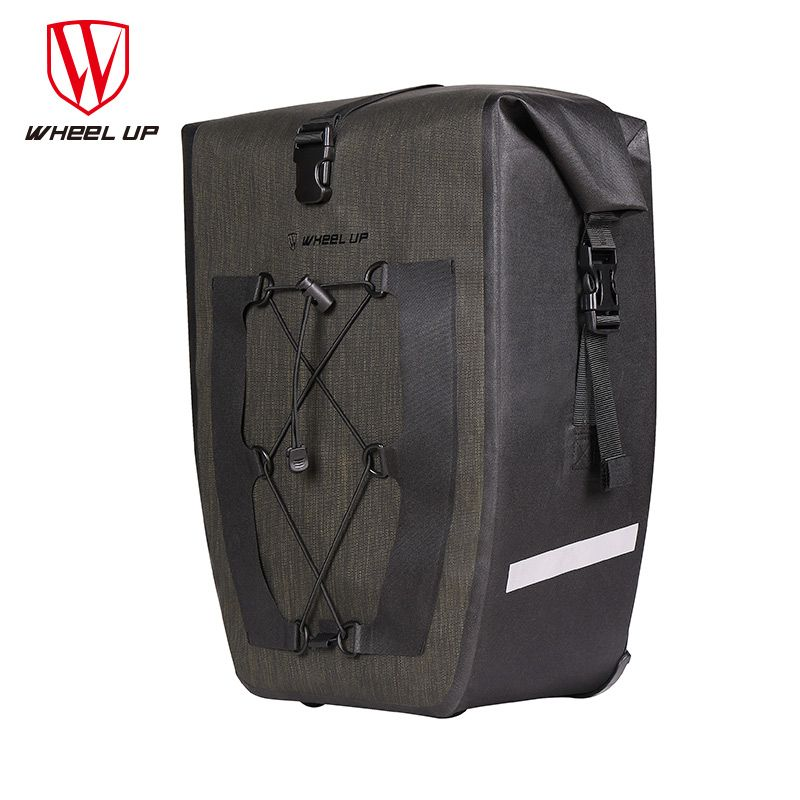 NEW Waterproof Large Capacity MTB Mountain Road Bike Cycling Rear Rack Seat Bags Bicycle Pannier Bag Cycle Accessories wholesale