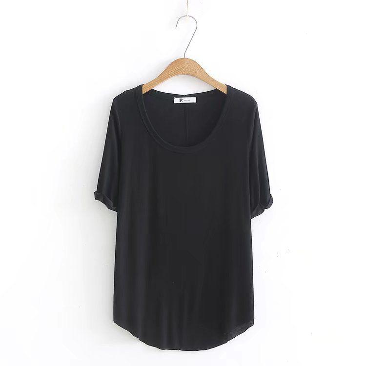 2018 T shirts short sleeves women