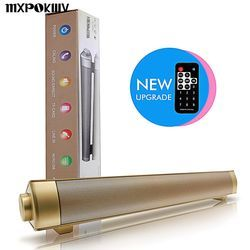 MXPOKWV 2X5W lp-08 Wireless Subwoofer Bluetooth Speaker Music Louderspeaker Stereo Super Bass Remote Control Sound Bar for TV