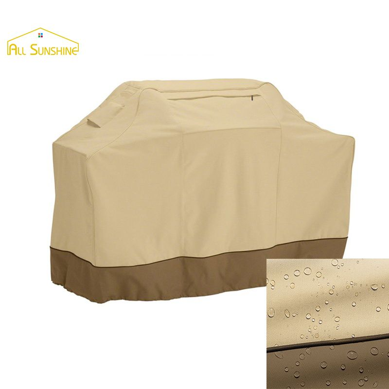 Waterproof BBQ Cover Dustproof Polyester Fibre Cloth Large BBQ Cover Gas Charcoal Barbecue Grill Protector Cover for Patio