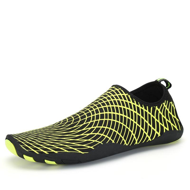 New Men Women Sport Water Shoes Quick Drying Skin Shoes Beach Diving Socks Yoga Sneakers Swim Surf Barefoot <font><b>Aqua</b></font> schwimm Schuhe