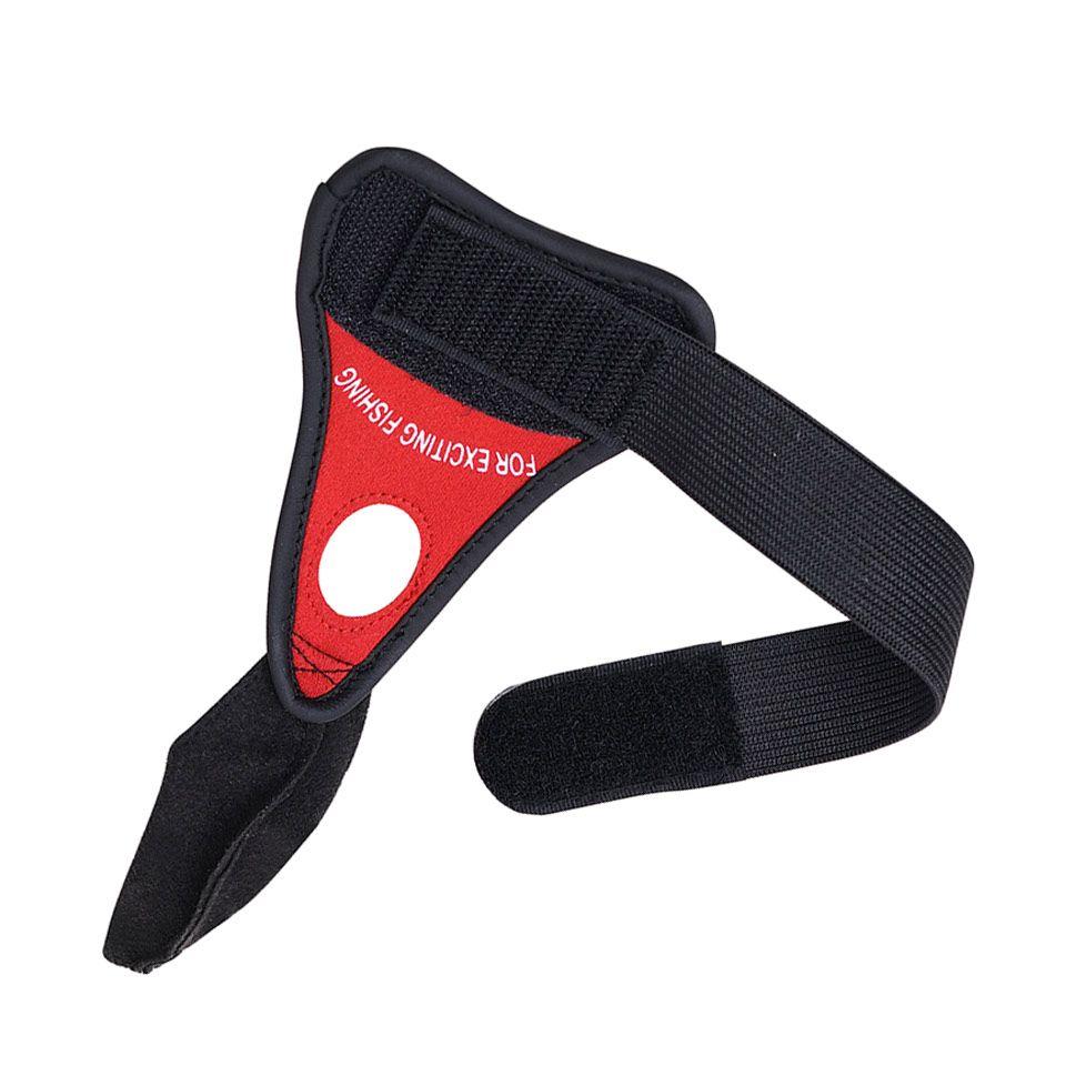 Seul doigt gants de pêche Sports de Plein Air Antidérapante Gants Mitaine en cuir Naturel sismique résistant à l'usure respirant