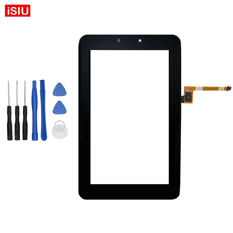New 7.0 inch For Huawei Mediapad 7 Youth 2 S7-721U / S7-721 LCD Youth2 Touch Screen Lens Glass Outer Front Panel + Tools