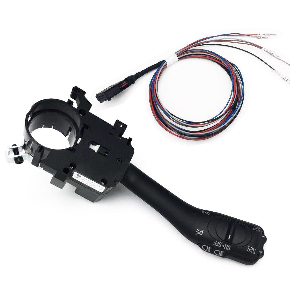 Commutateur de système de commutateur de tige de régulateur de vitesse pour VW Golf 4 Jetta MK4 IV Bora 18G 953 513 A + 1J1 970 011 F
