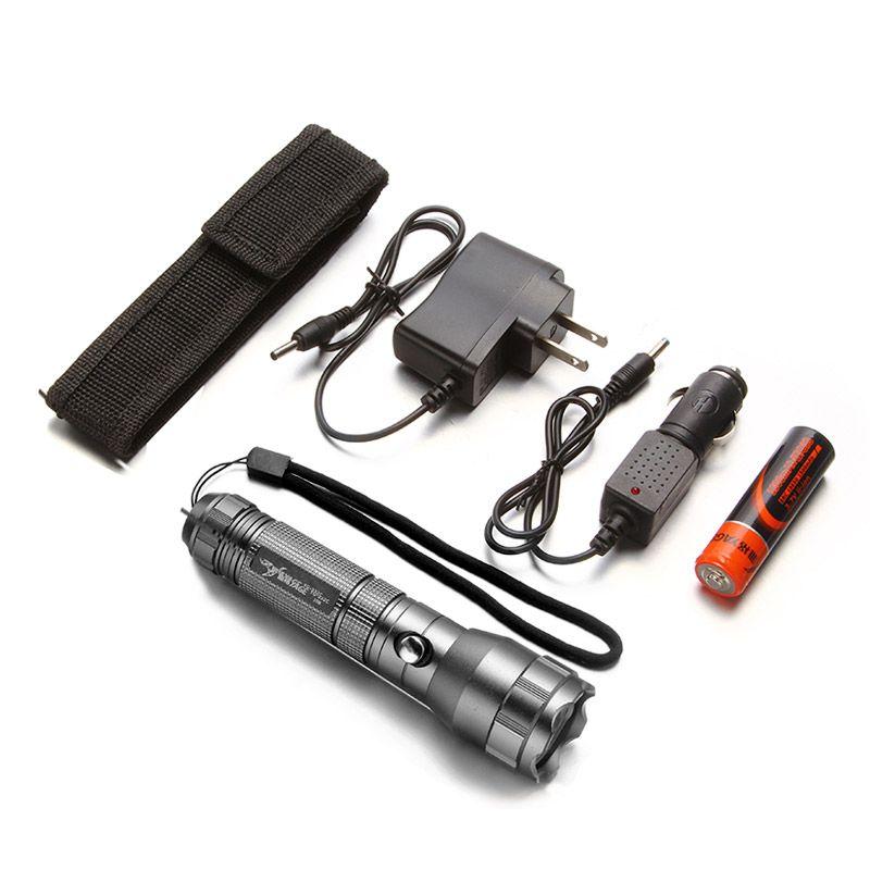 YAGE YG-332C Flashlight XP-E Powerful CREE LED Flashlight Tactica Waterproof Outdoor Torch light 1800mAh 18650 Battery Lanterns