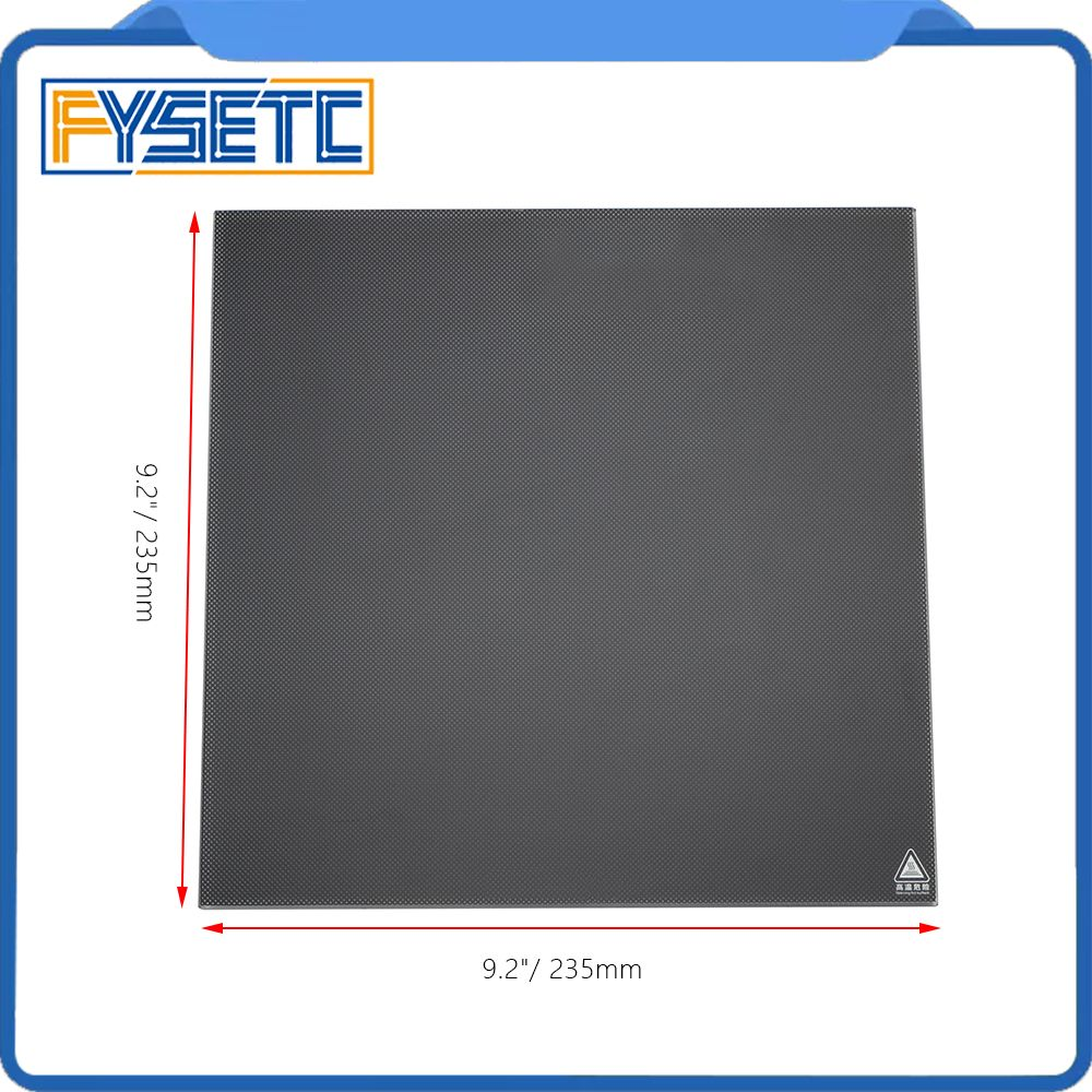 3D Ultrabase 3D Printer Platform Heated Bed Build Surface Glass Plate 235*235mm Thick 4mm For Creality Ender-3 MK2 MK3 Hot bed