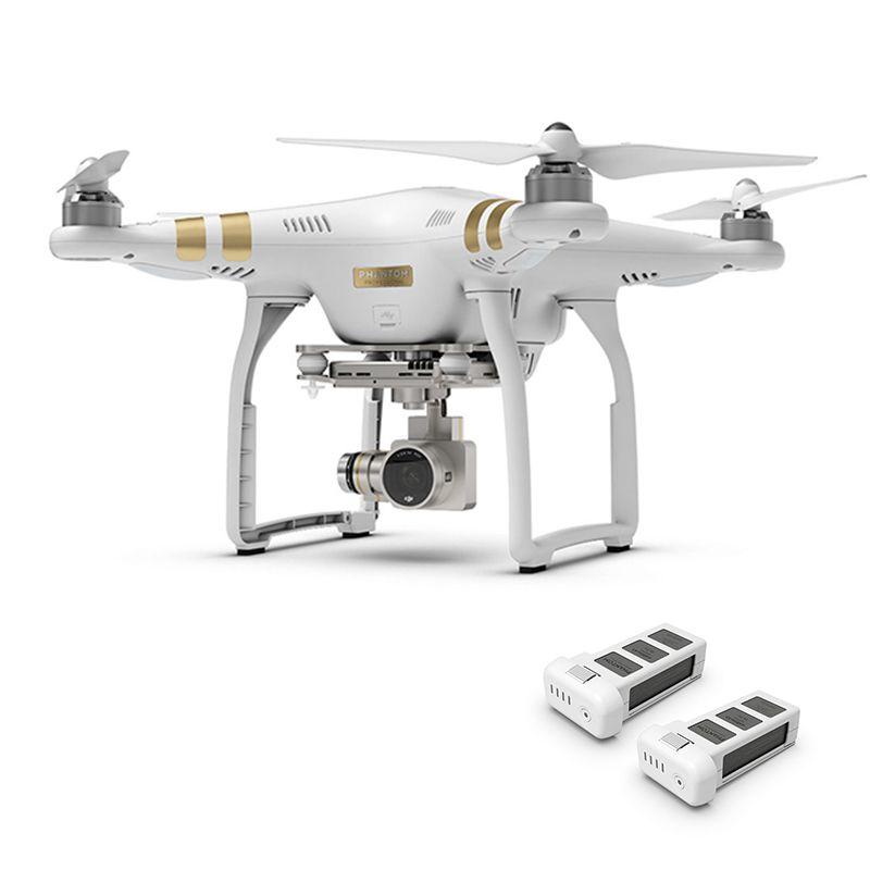 Original Phantom 3 Professionelle 4 K HD Kamera 3-Achsen Gimbal RC Hubschrauber GPS FPV DJI Phantom 3 Quadcopter drone Extra Batterie