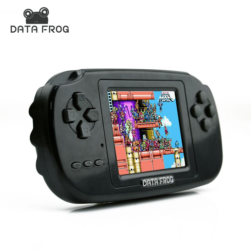 Childhood Classic Game With 200 Games 2.8 <font><b>Inch</b></font> 8-Bit PVP Portable Handheld Game Console Family TV Retro Video Consoles