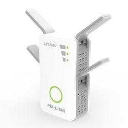 2.4 ghz/5 ghz Wifi Répéteur Booster Double Bande AP 1200 Mbps Sans Fil AC Extender Routeur Amplificateur WPS Avec 4 Antennes À Gain élevé