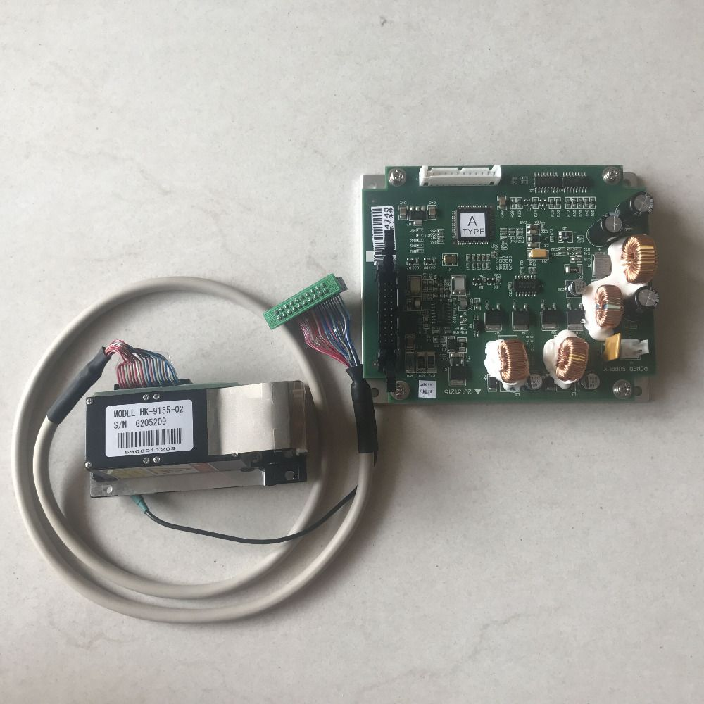 Noritsu Green laser gun with Driver PCB,A type for QSS 3201/3202/3203/3300/3301/3302/3311/3401/3501/3701/3702/3703/3704/LPS24PRO