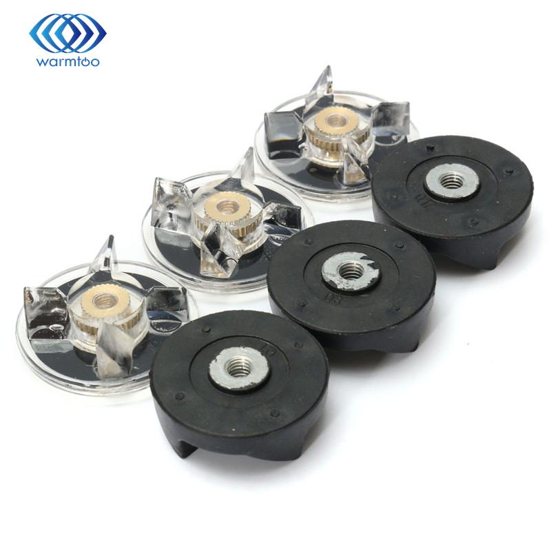 Kunststoff Gummi Metall Schwarz Weiß 3 stücke Basis Getriebe + 3 pcsRubber Getriebe Fit Für Wundermittel Langlebige Qualität