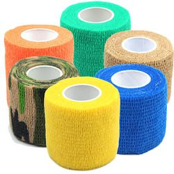 LNRRABC Hot 6Colors Self Adhesive Ankle Finger Muscles Care Non-woven Fabrics Wrist Support Medical Bandage
