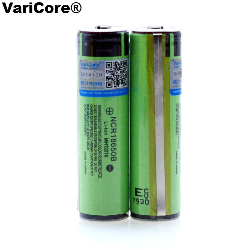 New Original Protected 18650 NCR18650B Rechargeable Li-ion battery 3.7V With PCB 3400mAh For Flashlight batteries use