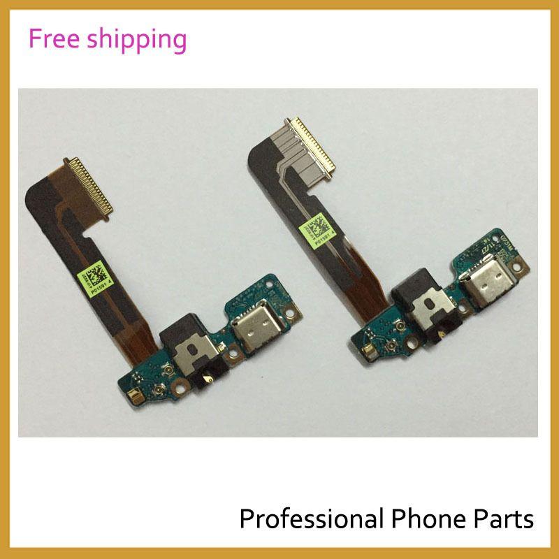 Nouveau Micro Casque Audio Jack Dock Chargeur Connecteur USB Port de Charge Flex Câble Ruban Pour HTC One M9