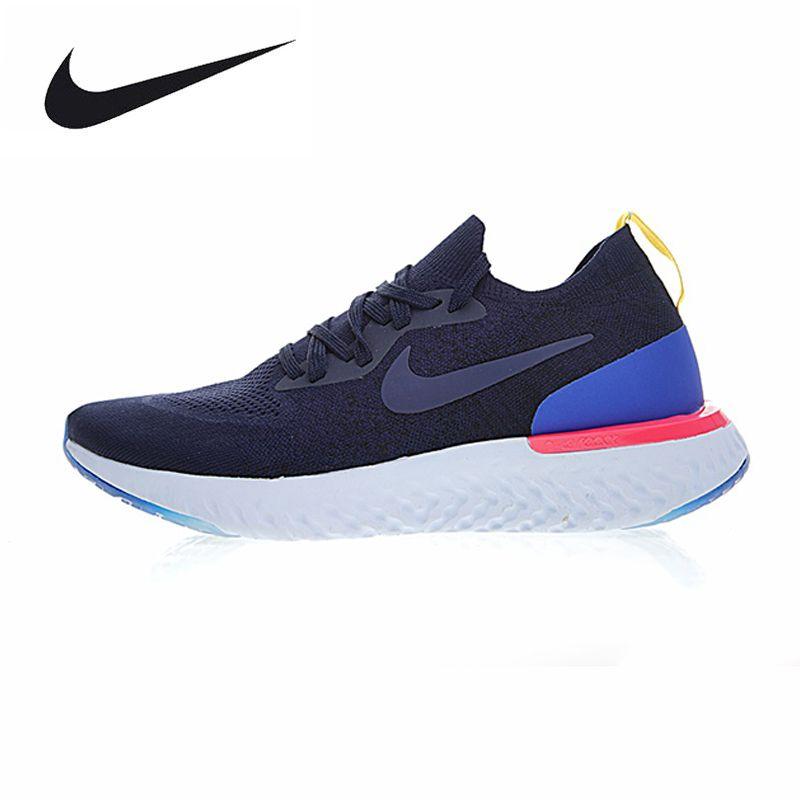 Nike Epic React Flyknit Men Running Shoes Professional Sport Sneakers AQ0067