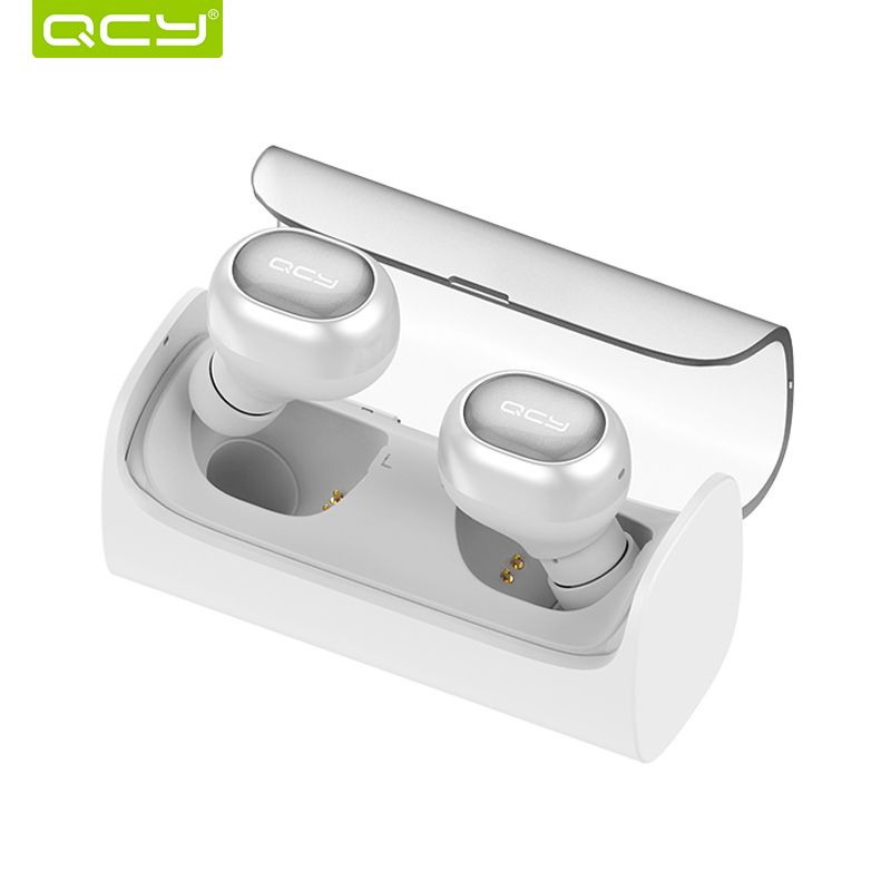 QCY Q29 Bluetooth Earphones TWS Wireless Headset Noise Cancelling Sports Music Earbuds with Mic and Portable Charging Box
