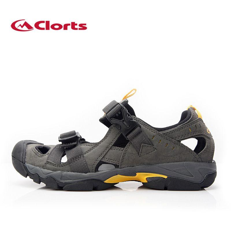 CLORTS Original Men Aqua Shoes Summer Outdoor Upstream Shoes Anti Skid Professional Aqua Shoes For Men Plus Size Beach Sandals