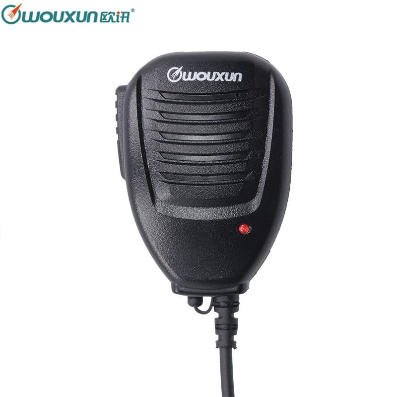 Original High Quality Wouxun Speaker Microphone for Wouxun All Portable Walkie Talkie KG-UVD1P KG-UV6D KG-UV8D KG-UV9D Plus