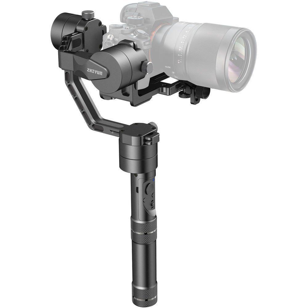 Zhiyun Kran V2 3 Achsen Brushless Hand Gimbal Stabilizer Bürstenlose Motoren für Spiegellose Kamera Maxmium Nutzlast 1800G