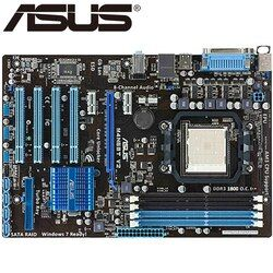 Asus M4N68T V2 De Bureau Carte Mère 630A Socket AM3 Pour Phenom II Athlon II Sempron 100 DDR3 16G ATX Original Utilisé carte mère